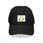 Pomeranian Geese Black Cap