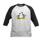 Pomeranian Geese Kids Baseball Jersey