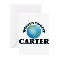 World's Coolest Carter Greeting Cards