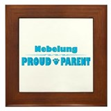 Nebelung Parent Framed Tile