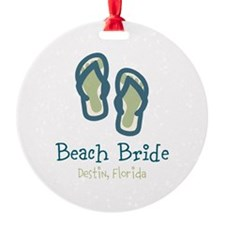 Personalize Flip Flops Ornament