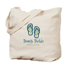 Personalize Flip Flops Tote Bag