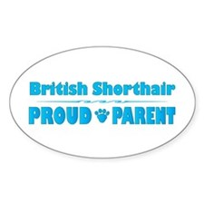 Shorthair Parent Oval Decal