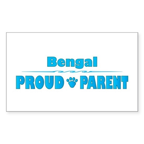 Bengal Parent Rectangle Sticker