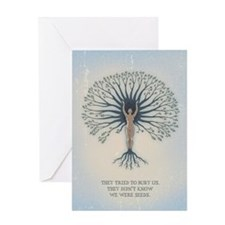 We Are Seeds Greeting Card