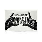 Photographers Make It Last Lo Rectangle Magnet (10