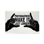 Photographers Make It Last Lo Rectangle Magnet
