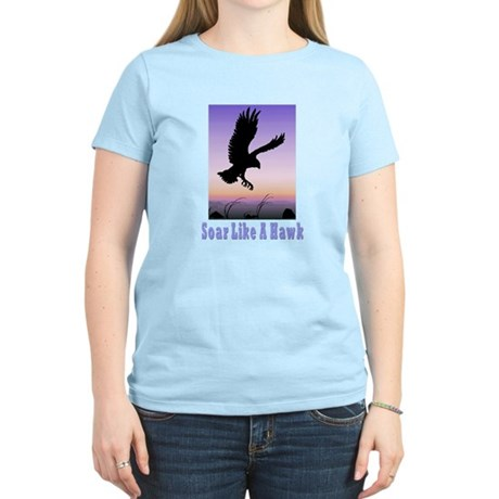 Flying High Soar Like A Hawk Women's Light T-Shirt