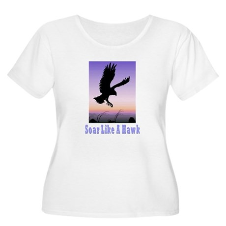 Flying High Soar Like A Hawk Women's Plus Size Sco