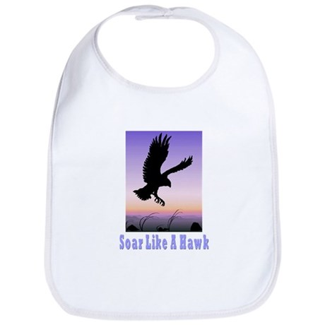 Flying High Soar Like A Hawk Bib