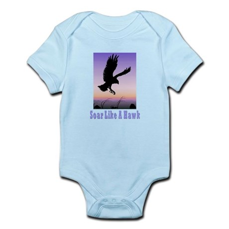 Flying High Soar Like A Hawk Infant Bodysuit
