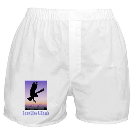 Flying High Soar Like A Hawk Boxer Shorts