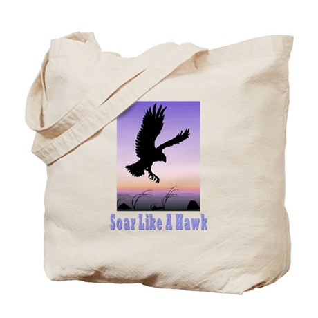 Flying High Soar Like A Hawk Tote Bag