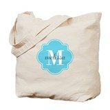 Monogram tote Canvas Bags