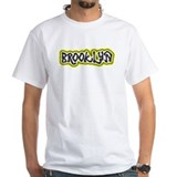 Brooklyn Blacktop T Shirt<br>Yellow