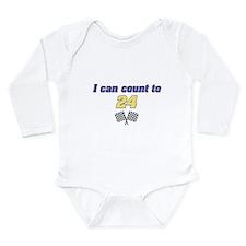 Cute Sports car Long Sleeve Infant Bodysuit