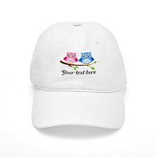 personalized add text Owls Baseball Baseball Cap