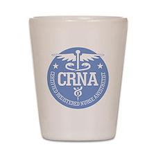 CRNA Shot Glass