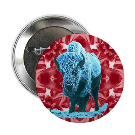 "Buffalo 2.25"" Button (10 pack)"