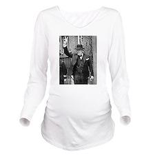 winston churchill Long Sleeve Maternity T-Shirt