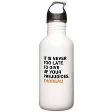 It is never too late t Water Bottle