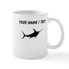 Swordfish Silhouette (Custom) Mugs