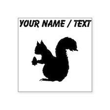 Squirrel Silhouette (Custom) Sticker
