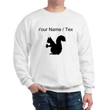 Squirrel Silhouette (Custom) Sweatshirt