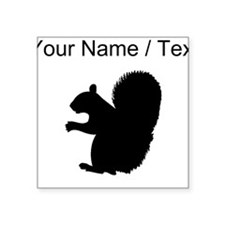 Squirrel Silhouette (Custom) Sticker