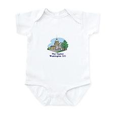 The Capitol . . . Washington Infant Bodysuit