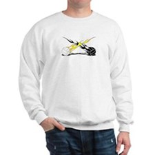 Flaming VolleyBalls Sweatshirt