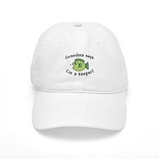 Grandma Says I'm a Keeper Baseball Cap