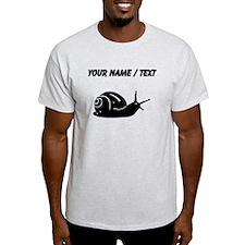 Snail Silhouette (Custom) T-Shirt