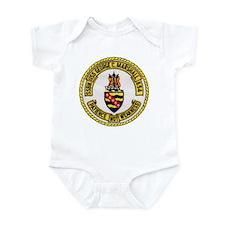 USS GEORGE C. MARSHALL Infant Bodysuit