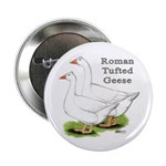 Roman Tufted Geese Button