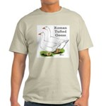 Roman Tufted Geese Light T-Shirt