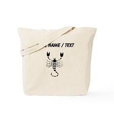 Scorpion Silhouette (Custom) Tote Bag