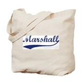 Marshall - vintage (blue) Tote Bag