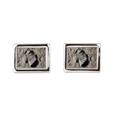 astronaut-01.jpg Rectangular Cufflinks