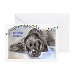 Cocker Puppy Christmas Cards (Pk of 10)