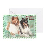 &quot;Collie Jolly Christmas&quot; Cards (Pk of 10)