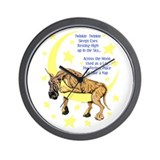Great Dane Brindle Twinkle Wall Clock