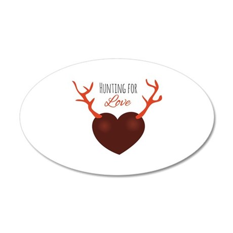 Hunting for Love Wall Decal