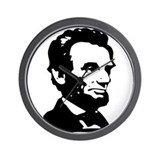 Abraham Lincoln Icon Wall Clock