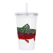 Brook Trout v2 Acrylic Double-wall Tumbler