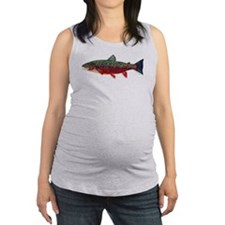 Brook Trout v2 Maternity Tank Top