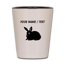 Bunny Silhouette (Custom) Shot Glass