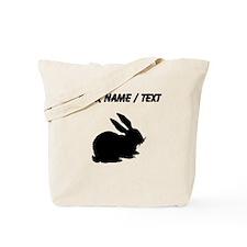 Bunny Silhouette (Custom) Tote Bag