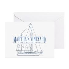 Martha's Vineyard - Greeting Cards (Pk of 20)