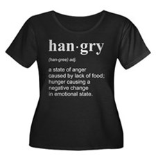 Hangry Plus Size T-Shirt